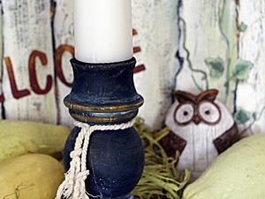 Мастерим подсвечник из фрагмента балясины. Ярмарка Мастеров - ручная работа, handmade.