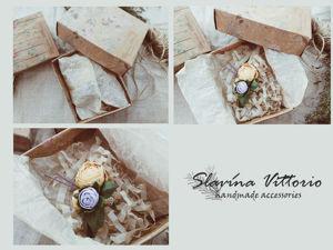 Упаковка брошей магазина Slavina Vittorio. Ярмарка Мастеров - ручная работа, handmade.