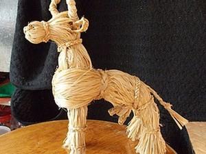 Мастер-класс по плетению народной игрушки «Коровка». Ярмарка Мастеров - ручная работа, handmade.