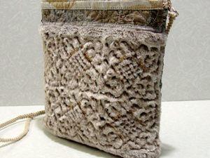 Маленькая текстильная сумочка. Феерия. Ярмарка Мастеров - ручная работа, handmade.