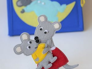 Планшет №2  «Сказка о глупом мышонке». Ярмарка Мастеров - ручная работа, handmade.