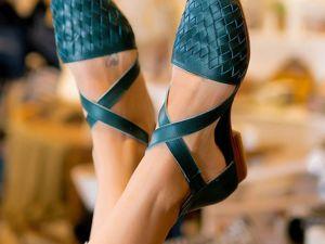 Видео: Riviera. Плетёные босоножки. Ярмарка Мастеров - ручная работа, handmade.