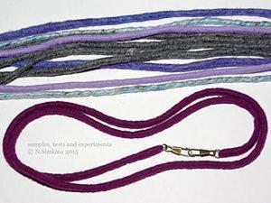 Простой способ создать мягкую цветную цепочку для сумки. Ярмарка Мастеров - ручная работа, handmade.