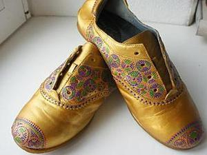 Осеннее преображение обуви. Ярмарка Мастеров - ручная работа, handmade.