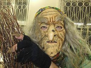 Делаем маску Бабы Яги. Ярмарка Мастеров - ручная работа, handmade.