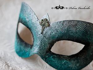 Карнавальная маска змеи своими руками. Эффект кожи рептилии.. Ярмарка Мастеров - ручная работа, handmade.