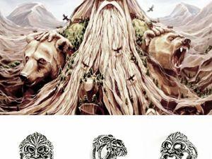Славянский бог Велес символика и мифы. Ярмарка Мастеров - ручная работа, handmade.