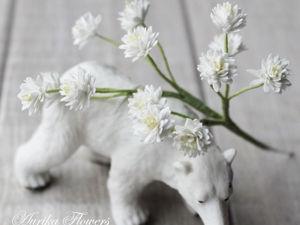 Как сделать цветок «Гипсофила» из фоамирана. Ярмарка Мастеров - ручная работа, handmade.