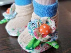 Делаем цветок из ткани на обувь или платье для куклы. Ярмарка Мастеров - ручная работа, handmade.