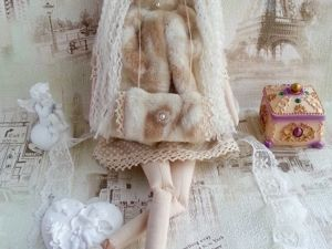Видеообзор — Тильда зимний ангел — Элен. Ярмарка Мастеров - ручная работа, handmade.