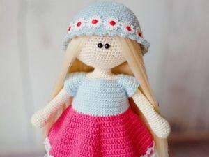 Как связать комплект одежды для куклы. Ярмарка Мастеров - ручная работа, handmade.