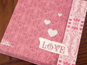 Создаем книгу о любви с вдохновляющими фразами из вкладышей «Love is». Ярмарка Мастеров - ручная работа, handmade.