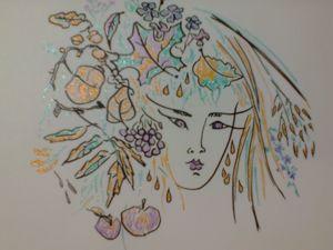 Осень  рисую. Ярмарка Мастеров - ручная работа, handmade.
