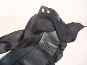 25% скидка на кожаный пояс с шифоном. Ярмарка Мастеров - ручная работа, handmade.