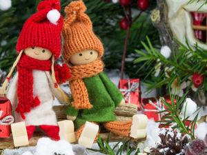 Поздравляю всех с  наступающим Новым Годом и Рождеством !. Ярмарка Мастеров - ручная работа, handmade.