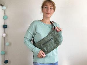 Шьем сумку на пояс. Ярмарка Мастеров - ручная работа, handmade.