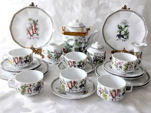 Редкость, красивейший чайный сервиз от Kaiser. Ярмарка Мастеров - ручная работа, handmade.