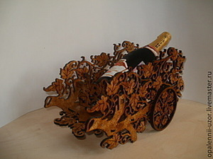 Делаем подставку под шампанское — богатое украшение для стола. Ярмарка Мастеров - ручная работа, handmade.
