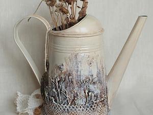 «В заколдованном лесу», или Преображение обычной лейки в сказочную. Ярмарка Мастеров - ручная работа, handmade.