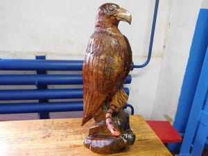 Деревянный орел своими руками. Ярмарка Мастеров - ручная работа, handmade.