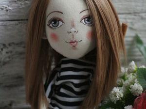 Видеоурок по росписи кукольного лица. Ярмарка Мастеров - ручная работа, handmade.