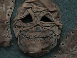 Кожаная маска. Ярмарка Мастеров - ручная работа, handmade.