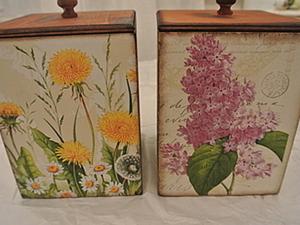 """Комплект коробочек """"Навстречу весне"""". Ярмарка Мастеров - ручная работа, handmade."""