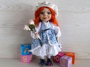 Шьем двусторонний сарафан для куклы с завязками. Ярмарка Мастеров - ручная работа, handmade.
