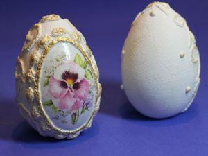 Декорирование пасхального яйца. Ярмарка Мастеров - ручная работа, handmade.