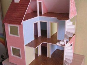 Мастерим кукольный домик из фанеры. Ярмарка Мастеров - ручная работа, handmade.