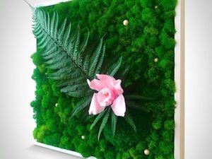 Картина из природных материалов!. Ярмарка Мастеров - ручная работа, handmade.