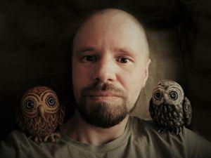 Men felting: художник Никита Ковалёв и его загадочный мир природы. Ярмарка Мастеров - ручная работа, handmade.