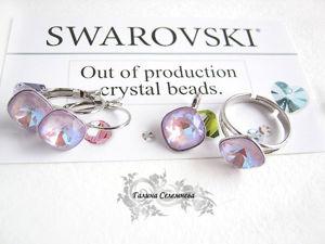 Анонс работ с кристаллами Swarovski, из новой коллекции Spring/Summer 2020 – The Power Of Emotions. Ярмарка Мастеров - ручная работа, handmade.