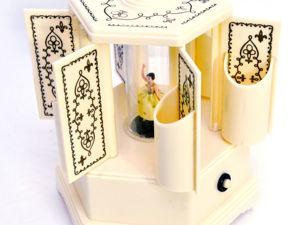 1950г Редкая Музыкальная Карусель Выступление Балерины. Ярмарка Мастеров - ручная работа, handmade.