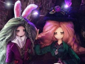 «Приспешник, ведьма и волшебный пень». Ярмарка Мастеров - ручная работа, handmade.