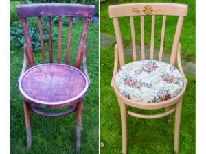 Как из чего-то старенького сделать что-то новенькое (декорирование стула). Ярмарка Мастеров - ручная работа, handmade.