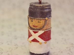 How To Make Christmas Tree Toy From Wine Cork. Livemaster - handmade