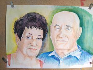 Создаем двойной портрет. Ярмарка Мастеров - ручная работа, handmade.
