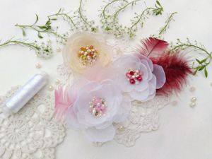 Вдохновленная летними цветами. Ярмарка Мастеров - ручная работа, handmade.