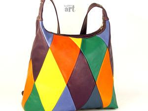 Как я шила сумку  «Арлекин». Ярмарка Мастеров - ручная работа, handmade.