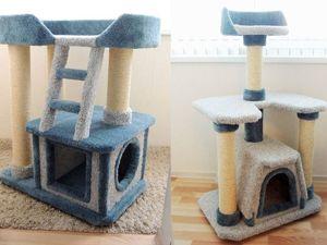 Магазин закрывается! Отдаем 2 комплекса для кошек! Спешите!. Ярмарка Мастеров - ручная работа, handmade.
