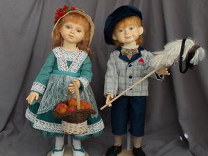 Фотосессия кукол перед выставкой. Ярмарка Мастеров - ручная работа, handmade.