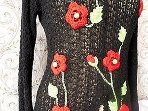 Имитация  ирландского кружева или вязание для ленивых.. Ярмарка Мастеров - ручная работа, handmade.