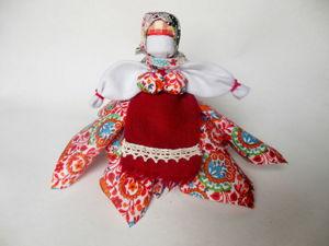 Мастерим тряпичную куклу вятская Платочница. Ярмарка Мастеров - ручная работа, handmade.