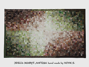 Мозаика из лоскутков.. Ярмарка Мастеров - ручная работа, handmade.