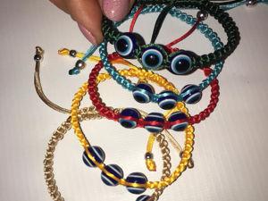 Плетение браслета «Шамбала» с добавлением бусин. Ярмарка Мастеров - ручная работа, handmade.