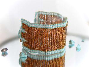 Плетем нежные браслеты из бисера. Ярмарка Мастеров - ручная работа, handmade.