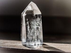 Контакт с кристаллом. Ярмарка Мастеров - ручная работа, handmade.