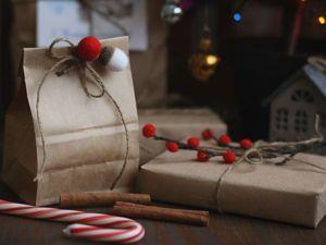 Видеоурок: оригинально упаковываем подарки к Новому году. Ярмарка Мастеров - ручная работа, handmade.