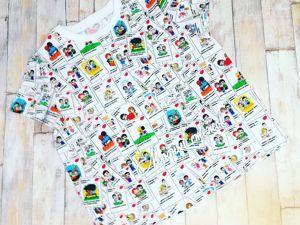 Готовые футболочки в наличии!!!. Ярмарка Мастеров - ручная работа, handmade.